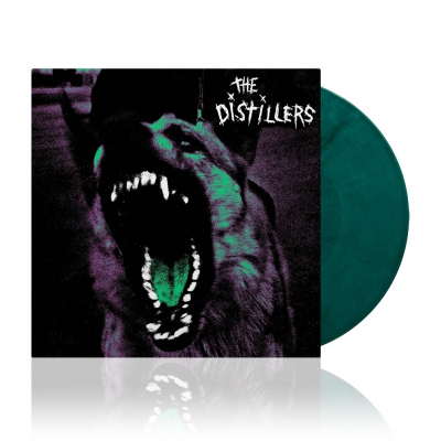 The Distillers - The Distillers | Trans. Green w/Solid White&Black