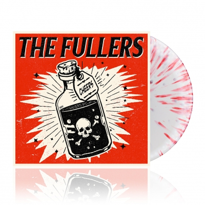 Cheers | White w/ Red Splatter Vinyl