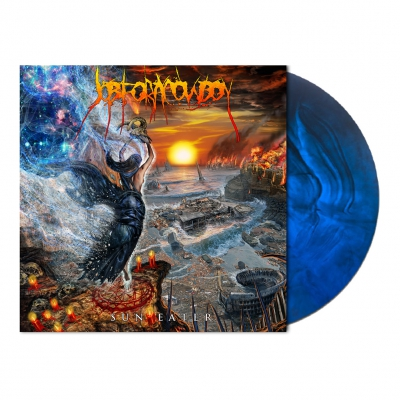Job For A Cowboy - Sun Eater | Dark Blue/Black Galaxy Vinyl
