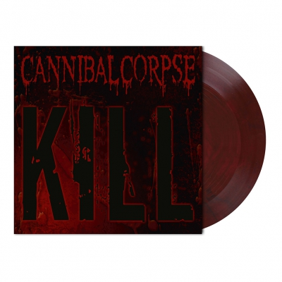 Kill | Trans. Dark Red/Black Marbled Vinyl