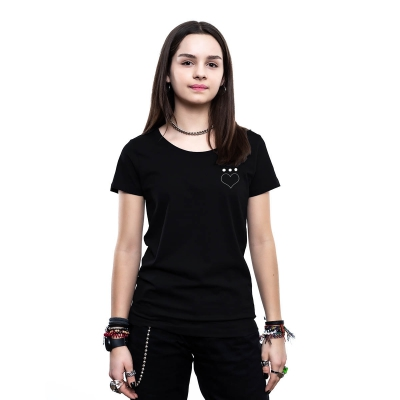 Pocket Herz | Frauen Shirt