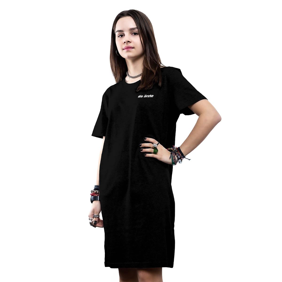 Pocket Print | T-Shirt Kleid