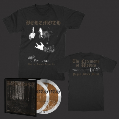 behemoth - Ceremony of Wolves | T+2xCD Bundle