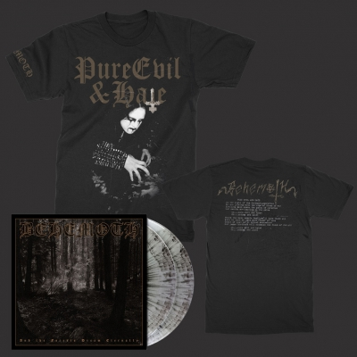 behemoth - Pure Hate & Evil | T+2xSilver/Black Splatter Vinyl Bundle