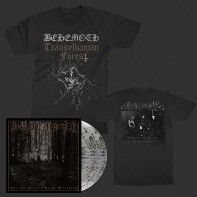 behemoth - Transylvanian Forest | T+2xSilver/Black Splatter Vinyl Bundle