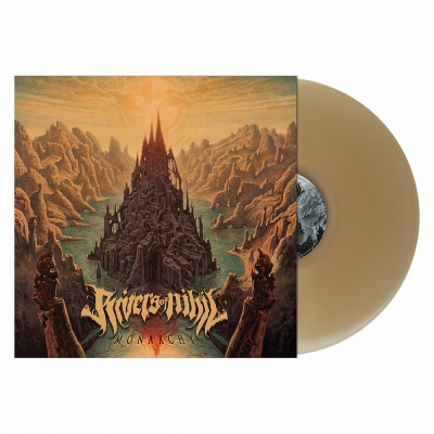 Rivers Of Nihil - Monarchy | Beer Colored Vinyl