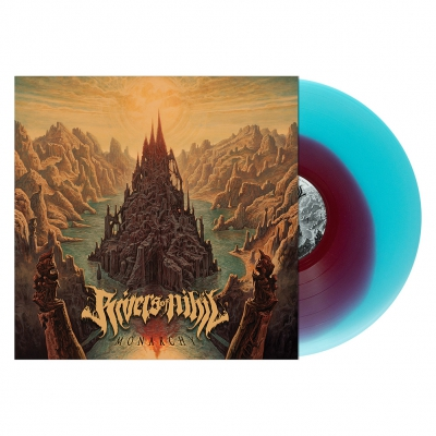 "Rivers Of Nihil - Monarchy | Red/Blue ""Corona"" Vinyl"