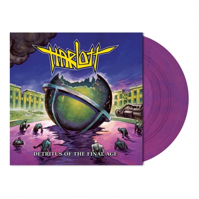 Harlott - Detritus of the Final Age | Toxic Violet Vinyl