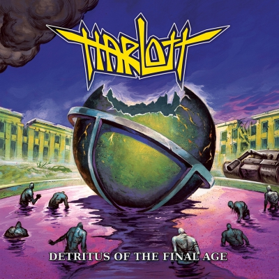 Harlott - Detritus of the Final Age | DIGI-CD