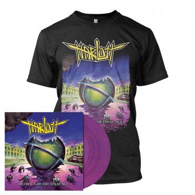 Harlott - Detritus of the Final Age | Violet Vinyl Bundle