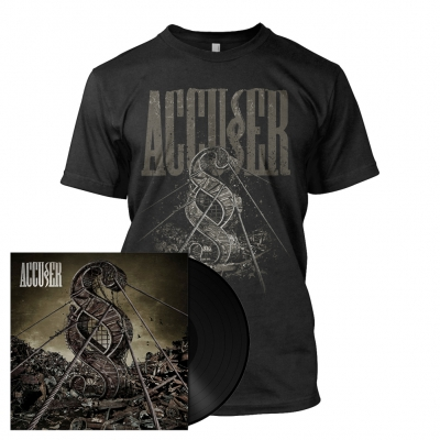 Accuser | 180g Black Vinyl Bundle