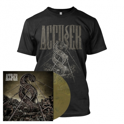 Accuser - Accuser | Golden Brown Marbled Vinyl Bundle