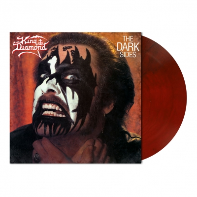 King Diamond - The Dark Sides | Maroon Marbled Vinyl