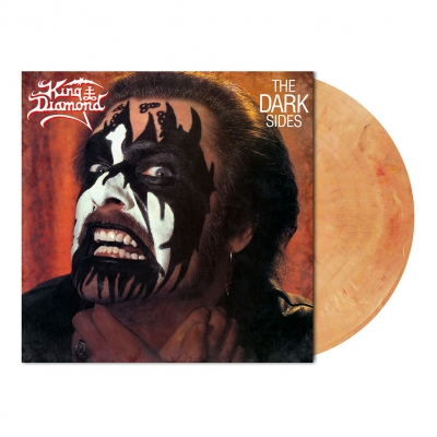King Diamond - The Dark Sides | Peach Skin Brown Marbled Vinyl