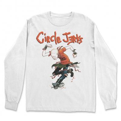Circle Jerks - Skank Man White | Longsleeve