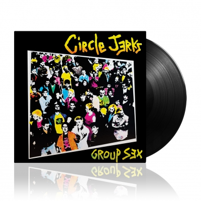 Circle Jerks - Group Sex | Black Vinyl
