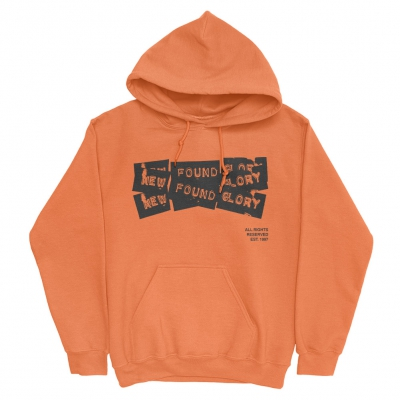New Found Glory - 3 Tape Logo | Hoodie