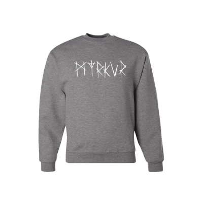 Logo Oxford Grey | Sweatshirt