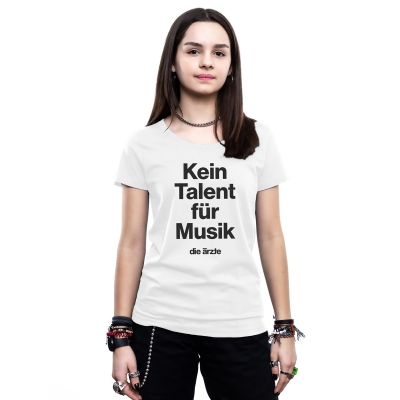 Kein Talent für Musik | Frauen Shirt