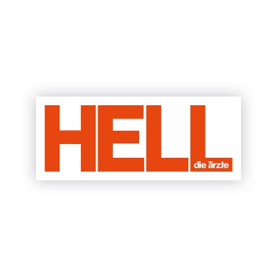 Hell | Aufkleber