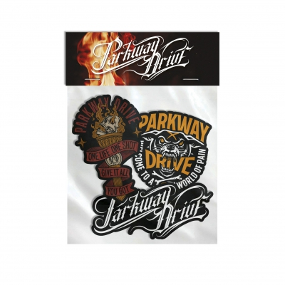 parkway-drive - WOP/Torch/Horizontal | Sticker Pack