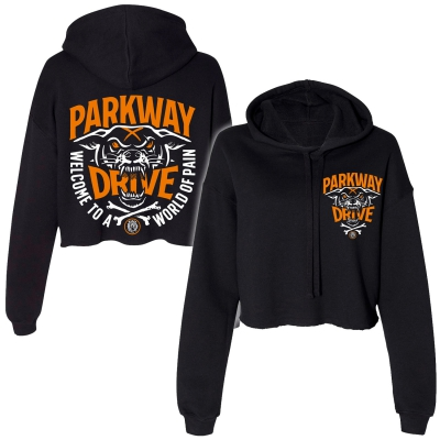 parkway-drive - World Of Pain | Girl Crop Hoodie