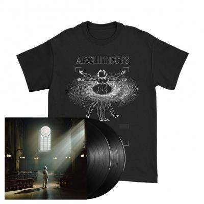 Vitruvian | 2xBlack Vinyl+T-Shirt Bundle