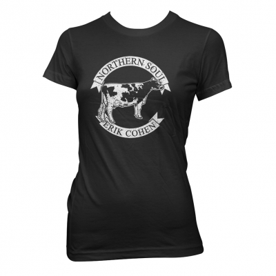 Northern Soul Kuh | Girl Fitted T-Shirt