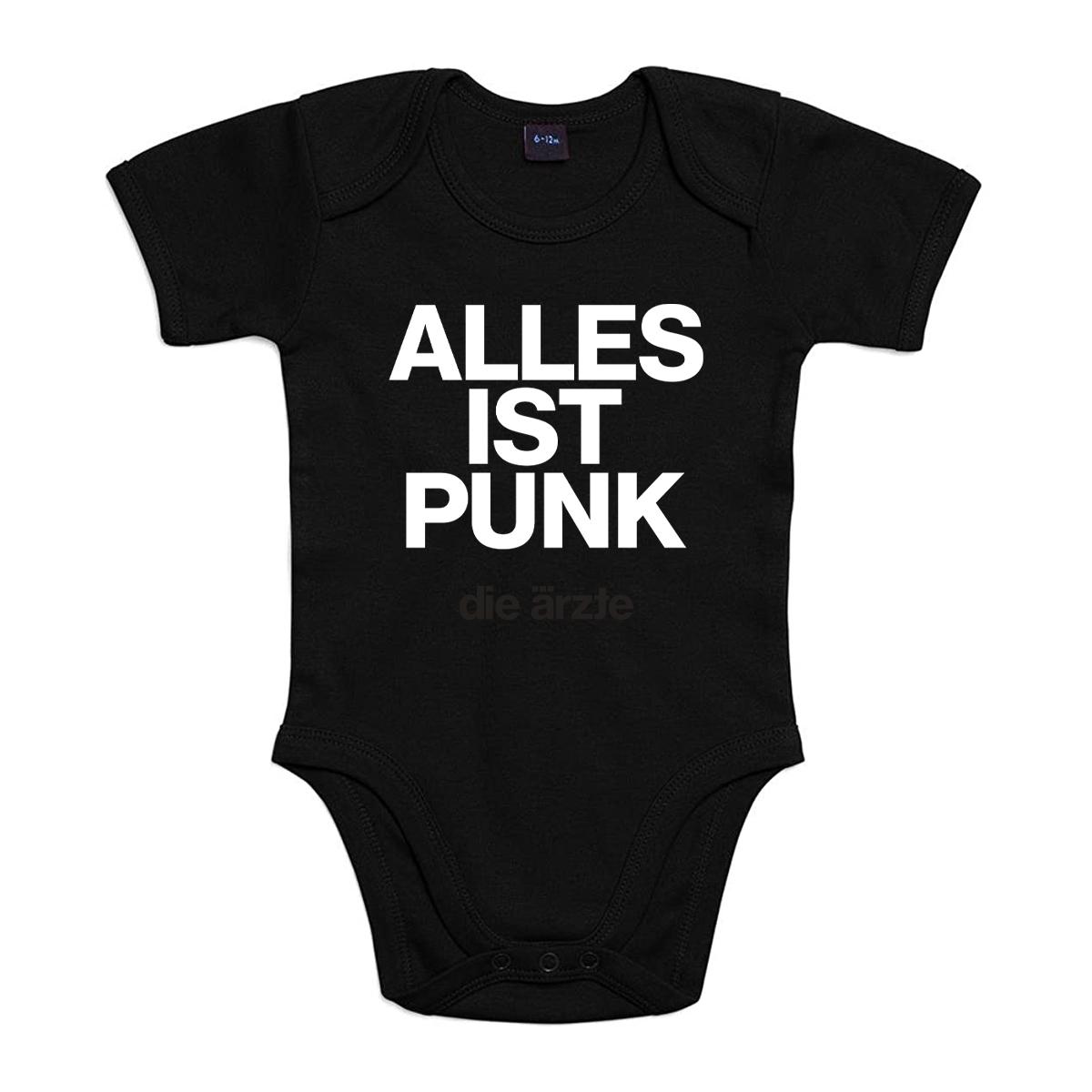 ALLES IST PUNK | Baby Strampler