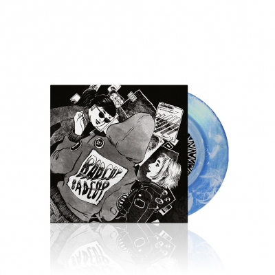 s/t | Clear Blue/White 7 Inch