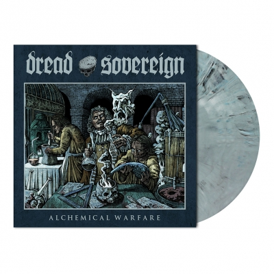 Alchemical Warfare | Slate Blue Grey Marbled Vinyl