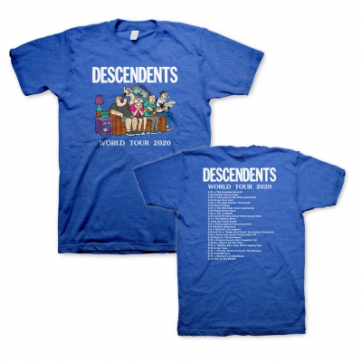 World Tour Washed Royal Blue | T-Shirt