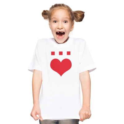 Härz Weiß | Kinder Shirt