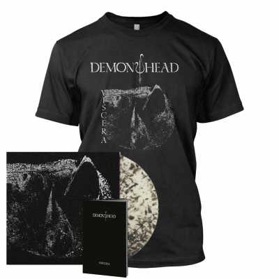 Viscera | Clear/Black Dust Vinyl Bundle