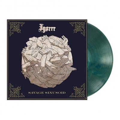 Savage Sinusoid   Pine-Green Marbled Vinyl