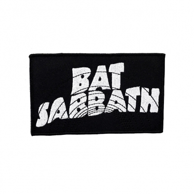Bat Sabbath Logo | Embroidered Patch