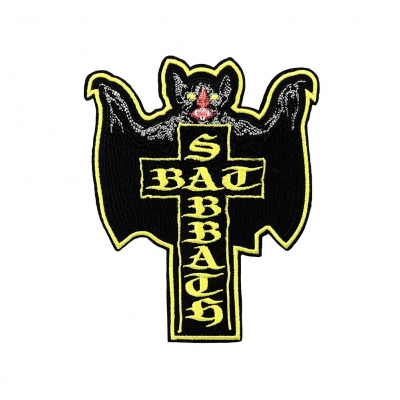 Bat Sabbath Cross Bat | Embroidered Patch