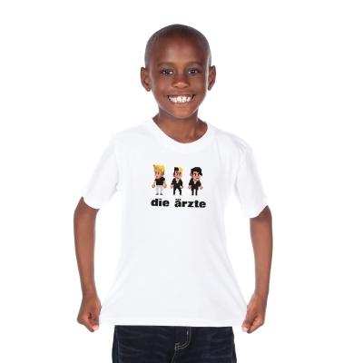 Pixel Weiß | Kinder Shirt
