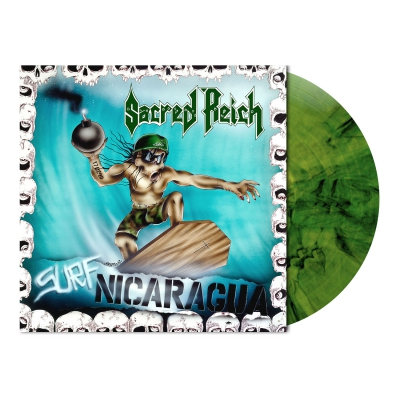 Surf Nicaragua | Camouflage Marbled Vinyl