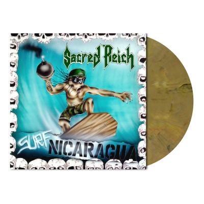 Surf Nicaragua | Oakwood Brown Marbled Vinyl
