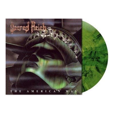 The American Way | Camouflage Green Marbled Vinyl