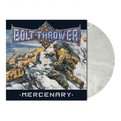 Mercenary | Snow Slush White Marbled Vinyl