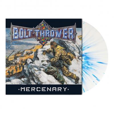 Mercenary | White/Blue Splatter Vinyl