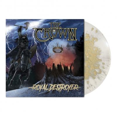 Royal Destroyer   Clear/Gold Splatter Vinyl