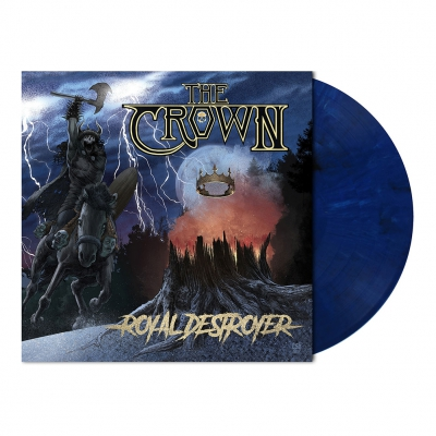 Royal Destroyer | Midnight Blue Marbled Vinyl