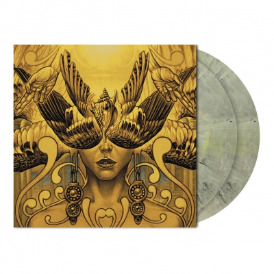 Etemen Aenka | Grey Yellow-Green Marbled Vinyl