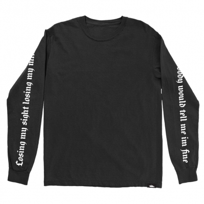 Losing My Mind Old English | Longsleeve