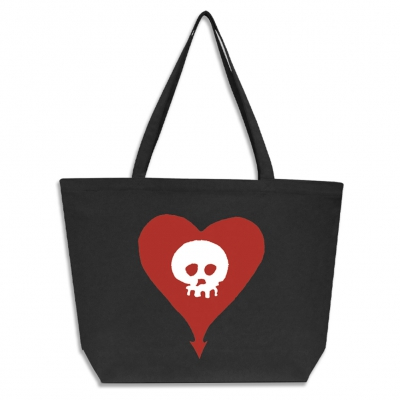 Heartskull | Maxi Tote Bag