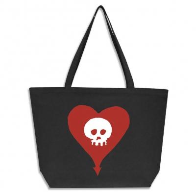Heartskull | Maxi Tote Bag