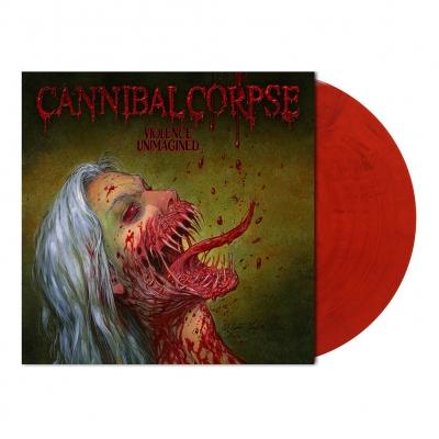 Violence Unimagined | Bloodred Marbled Vinyl